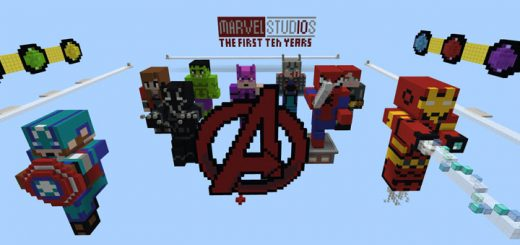 Avengers: Infinity War Special (Burn It) [Minigame]