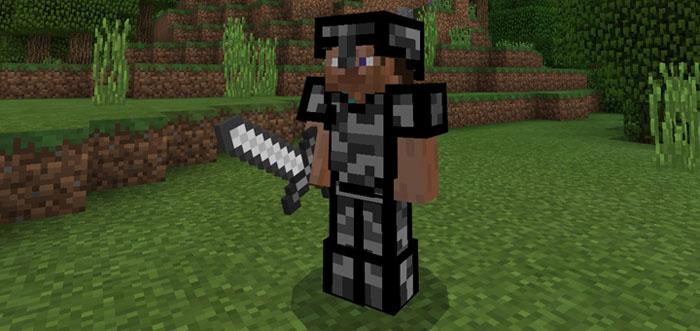Bedrock Armor Addon Minecraft PE Mods Addons