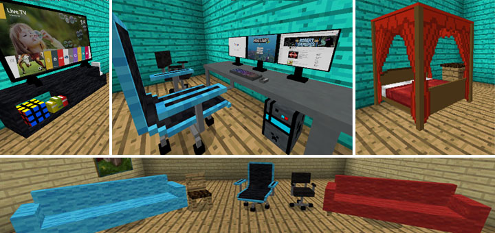Decoration Add On Minecraft Pe Mods Addons
