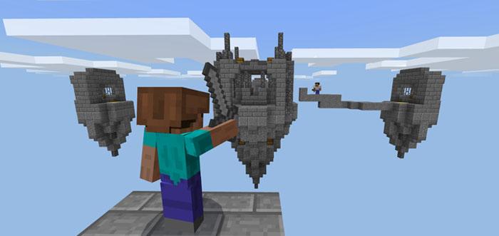 SG SkyWars (16 Maps!) [PvP] [Minigame] | Minecraft PE Maps