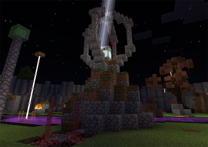The Rift (Command Block Boss Fight) [Minigame] [Redstone