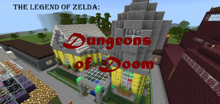 The Legend of Zelda: Dungeons of Doom [Adventure] [Puzzle ...