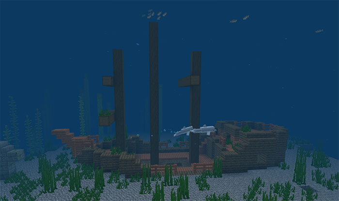2104241268: Chain of Survival Islands with Coral Reef