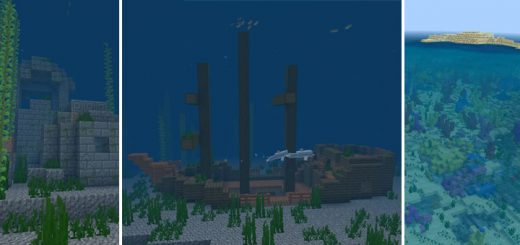 2104241268: Chain of Survival Islands with Coral Reef, Shipwrecks, Ruins, & More