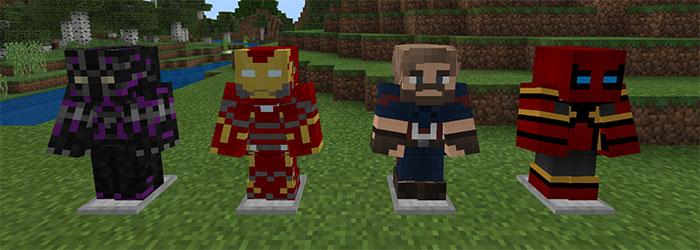 Avengers Infinity War Addon | Minecraft PE Mods & Addons