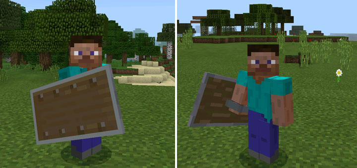 Shield Addon Concept Beta Only Minecraft Pe Mods Addons