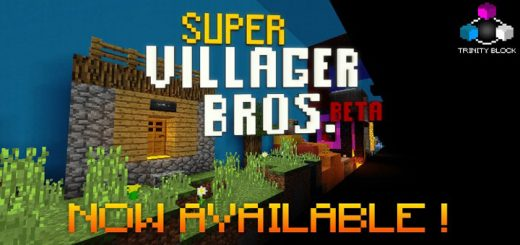 Super Villager Bros. (BETA Version) [Minigame]