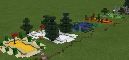 Matt's Minigolf: Biomes Edition [Minigame]