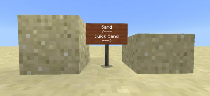 Quicksand Addon   Minecraft PE Mods & Addons