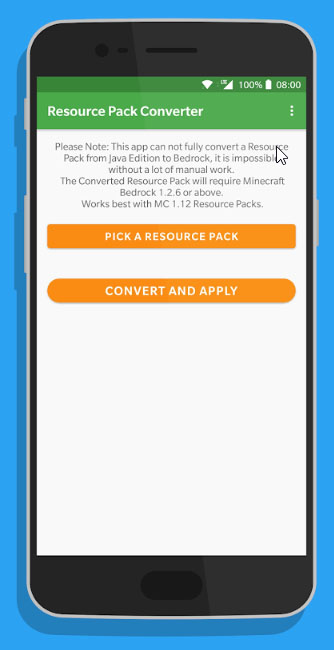Resource Pack Converter (Android Tool) | Minecraft PE Mods