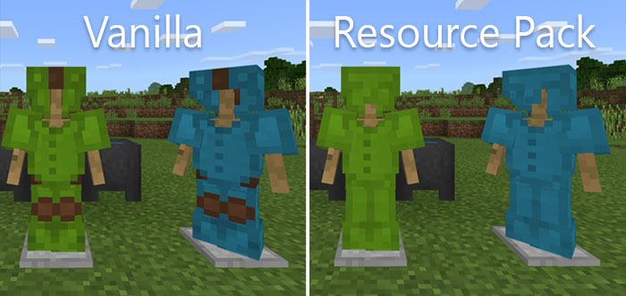 Better Leather Armor Resource Pack   Minecraft PE Texture Packs