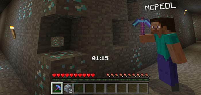 Diamond Rush [Minigame] | Minecraft PE Maps