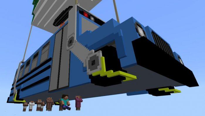 Fortnite Battle Bus Minecraft Tutorial | Fortnite Cheating