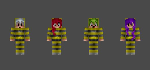 Search Results For Skin Pack MCPE DL - Skins para minecraft pe tsuna