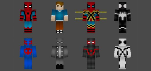 Spider-Man Suits Skin Pack