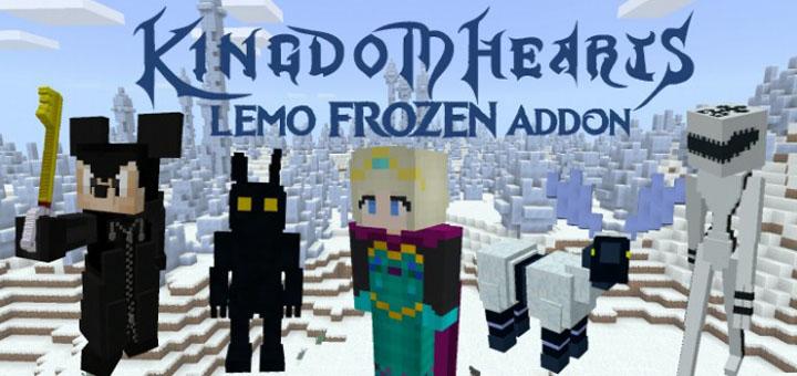 Kingdom Hearts III & Frozen Addon   Minecraft PE Mods & Addons