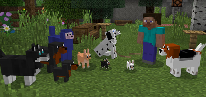 More Dogs Add-on | Minecraft PE Addons