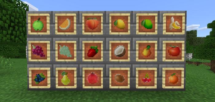 minecraft fruit mod