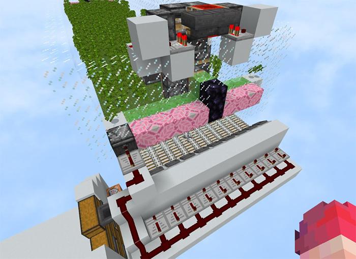 Bamboo Farm Design [Redstone] (1 8+ Only) | Minecraft PE Maps