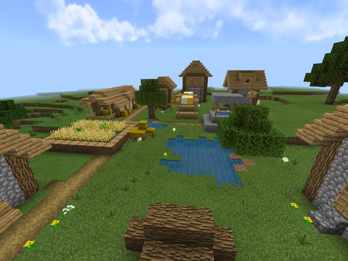 Village Pillage Concept Map Creation Minecraft Pe Maps