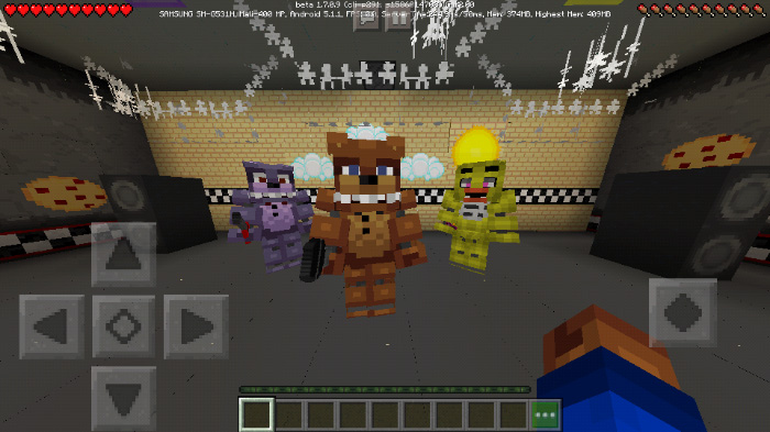 Five Nights at Freddy's [Minigame] | Minecraft PE Maps