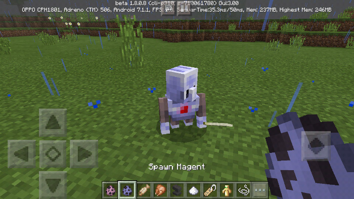 Magent And Pagent Add-on (1 8+ Only)   Minecraft PE Mods