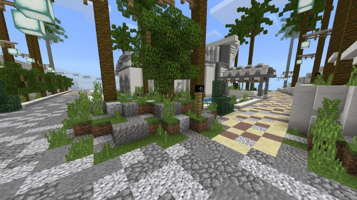 Modern Redstone Mansion [Creation] [Redstone] | Minecraft PE