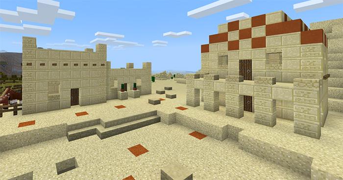New Desert Village Villagers Village Pillage Update Concept