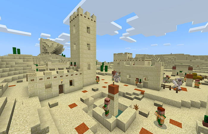 minecraft 1.14 village and pillage free download