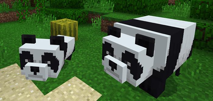 panda bear add on minecon 2018 concept minecraft pe mods addons