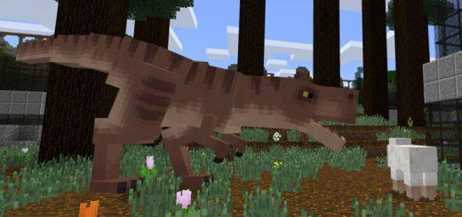 Tyrannosaurus Rex Addon (1.8+)