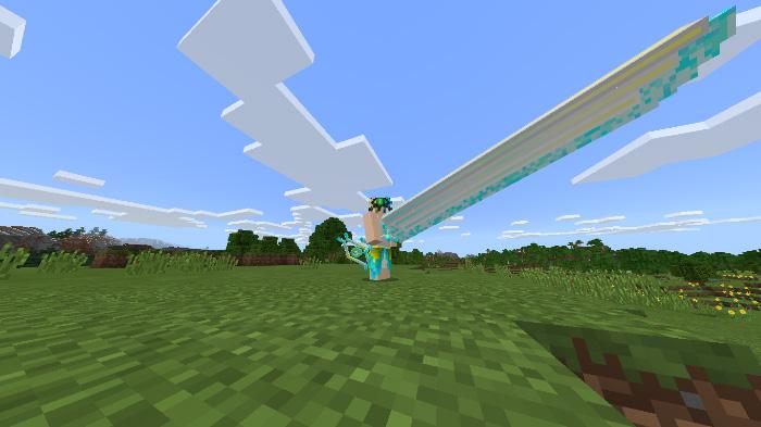 Aaron's Long Sword Pack Addon | Minecraft PE Mods & Addons