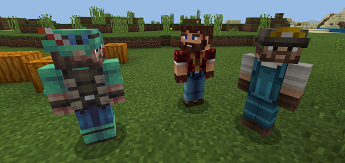 Helpful NPC's Addon | Minecraft PE Mods & Addons