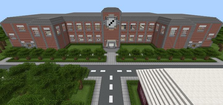 Minecraft Schule Map