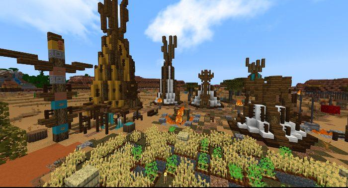minecraft survival world download pe