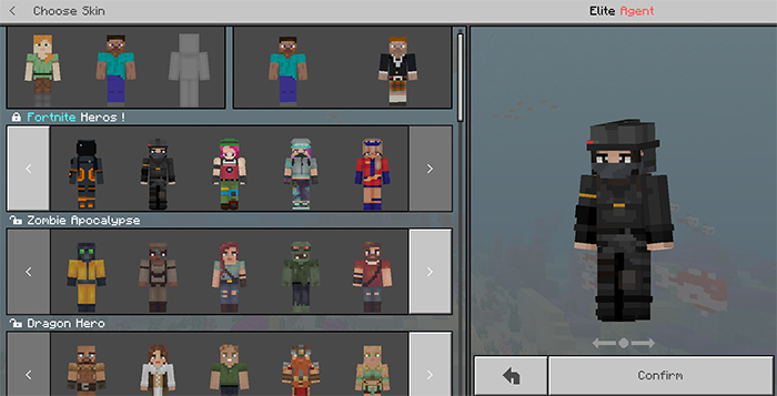 Fortnite Heroes Skin Pack (128×128) | Minecraft Skin Packs
