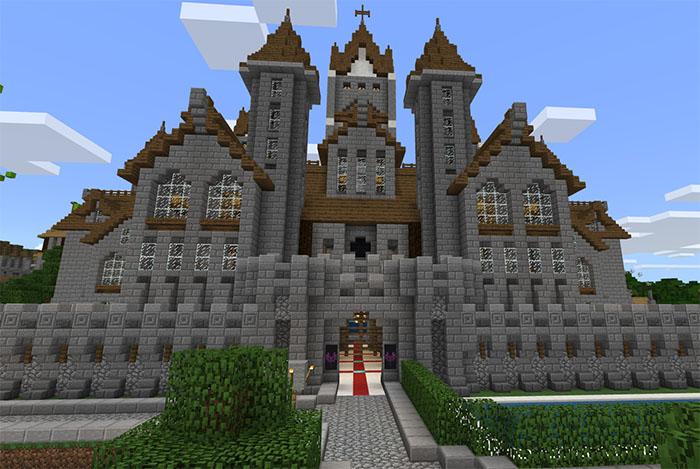 My Medieval Village Creation Minecraft Pe Maps