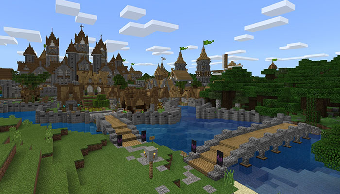 My Medieval Village [Creation] | Minecraft PE Maps
