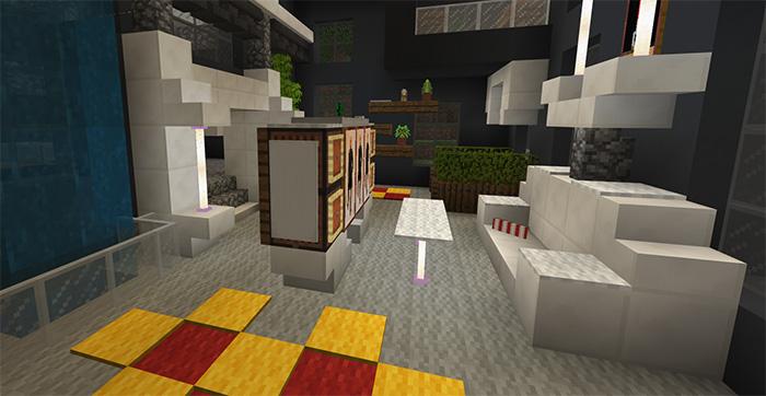 Sg Modern Mansion House 1 Creation Minecraft Pe Maps