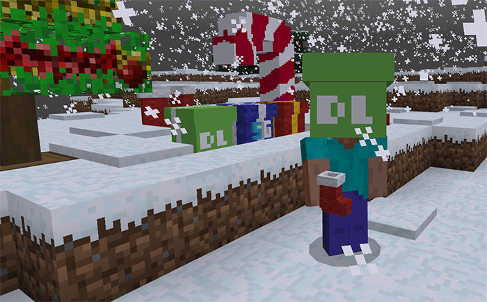 Christmas Minecraft Decorations.Sg Christmas Decorations Addon Minecraft Pe Mods Addons