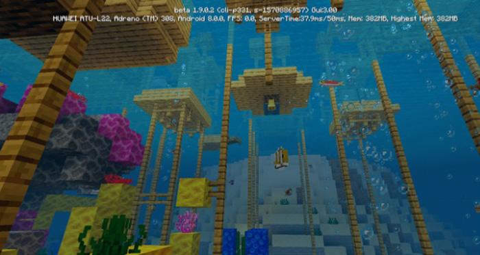 Stilt Village 1 9 0 3 Beta Only Creation Minecraft Pe Maps