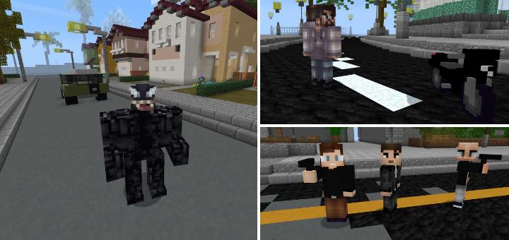 VENOM 2018 Movie Addon   Minecraft PE Mods & Addons