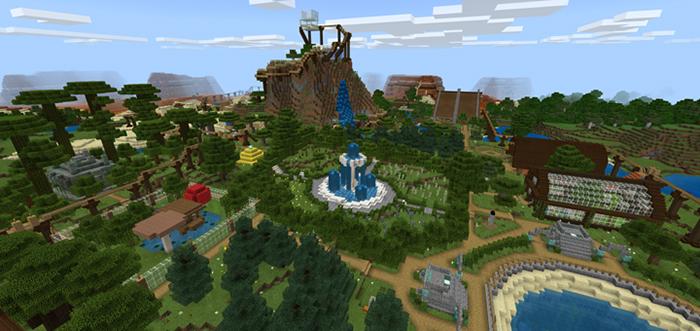 Minecraft Bedrock Zoo [Creation] | Minecraft PE Maps