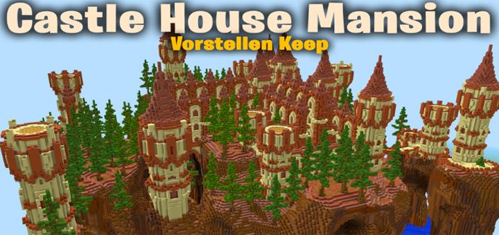 Sg Castle House Mansion Vorstellen Keep Creation Minecraft Pe Maps