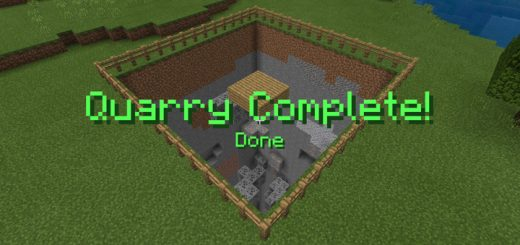 Quarry Function Addon/Data Pack