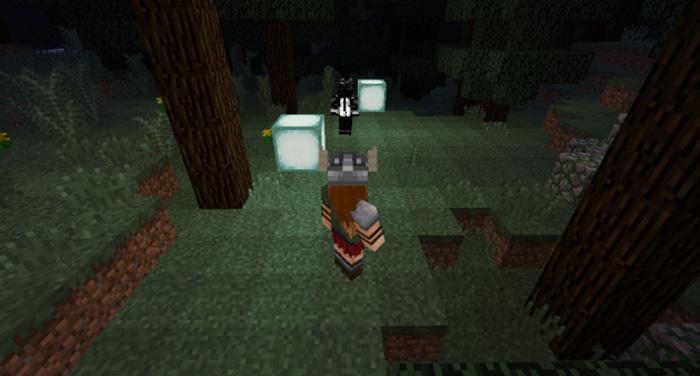 sea lantern follower script  minecraft pe