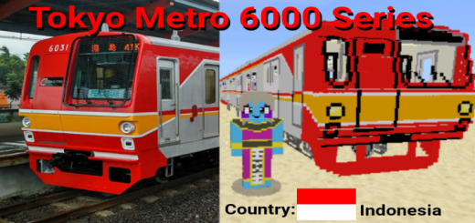 Tokyo Metro 6000 Series (Indonesia) Addon
