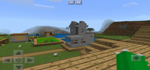 -213506630: Spawn On Village House Rooftop Seed