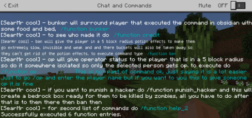 Function pack for multiplayer