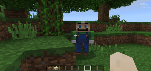 Luigi the Creeper Addon